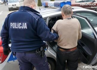 Rudy: Zaatakował nożem policjantów