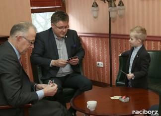Racibórz przez jeden dzień miał nowego prezydenta. Został nim sześciolatek Wiktor Huczek