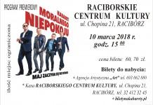 Racibórz: Kabaret Moralnego Niepokoju wystąpi w RCK. Wygraj bilety w konkursie na FB