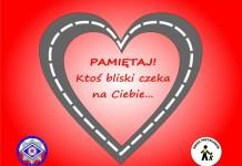 Raciborska policja na Walentynki przypomina o zasach bezpieczeństwa w ruchu drogowym