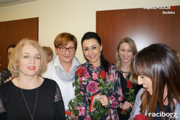 Obchody Dnia Kobiet w raciborskiej komendzie
