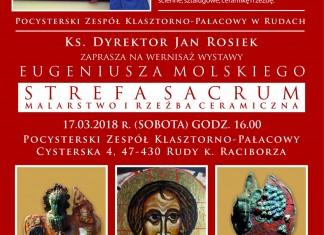 Wernisaż wystawy Eugeniusza Molskiego pt. STREFA SAKRUM