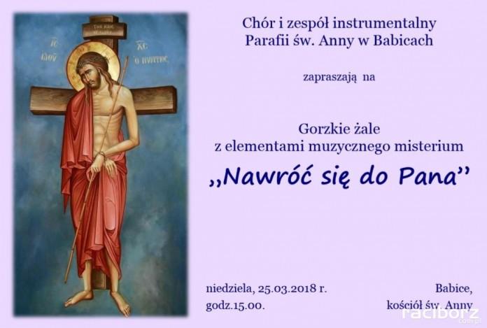 Misterium Muzyczne w Kościele Św. Anny w Babicach