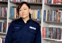 Spotkanie z policjantka w bibliotece na Ostrogu