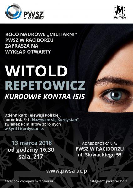 Witold Repetowicz - Kurdowie konstra ISIS Racibórz
