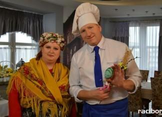 Barbara Gonska u Remigiusza Rączki w TVP3. Fot. fb.com/basia.gonska