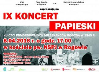 Koncert Papieski Rogów