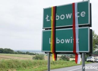 Rok 2008, poświęcenie tablic w Łubowicach – Lubowitz