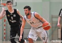 Koszykówka: Ofensywa Racibórz pokonała KŚ AZS Katowice I