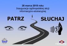 """Polska Policja: Akcja informacyjno-edukacyjna """"Patrz i słuchaj"""""""