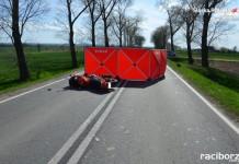 Racibórz, Żerdziny: Tragiczny wypadek z udziałem motocyklisty na DW 416