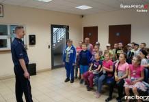 Policja Racibórz: Komendę odwiedzili uczniowie SP nr 1