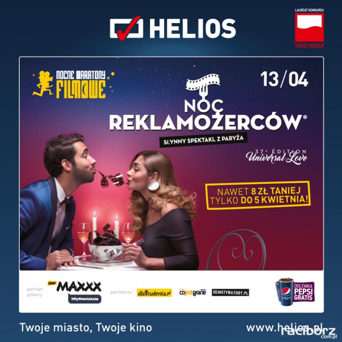 Helios Noc Reklamożerców