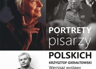 WERNISAŻ Portrety Pisarzy Polskich