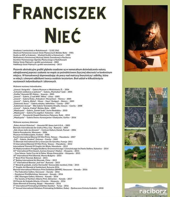 Wystawa Skale Niecia. Franciszek Nieć w Rybniku