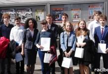 Sukcesy uczniów raciborskiego Gimnazjum z Oddziałami Dwujęzycznymi