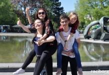Uczniowie I LO we Wiedniu