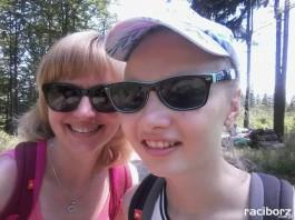 Izabela z córką Laurą