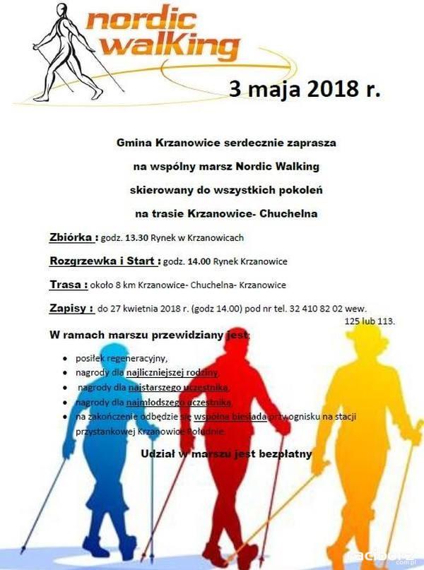 nordic walking krzanowice