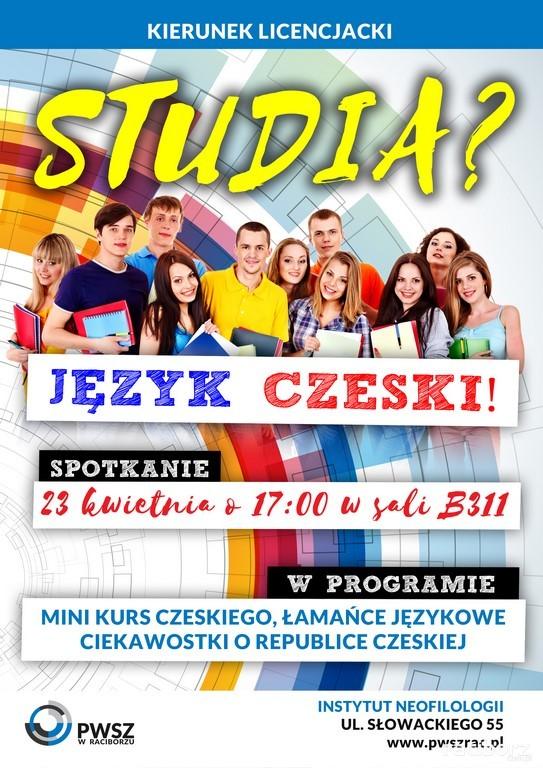 Warsztaty języka czeskiego w PWSZ w Raciborzu