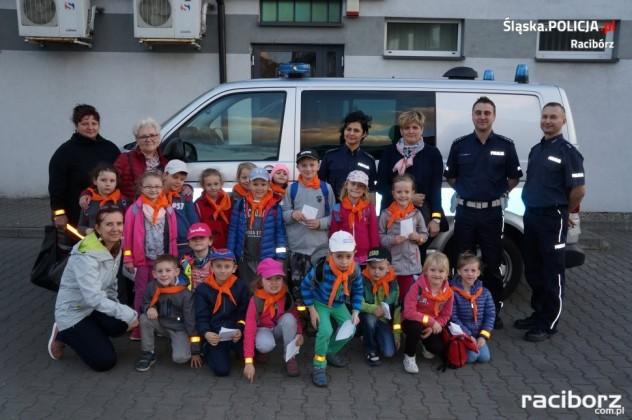 Policja Racibórz: Przedszkolaki z Markowic z wizytą w komendzie