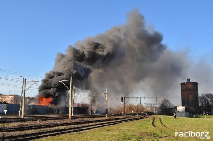 Pożar przy Eichendorffa
