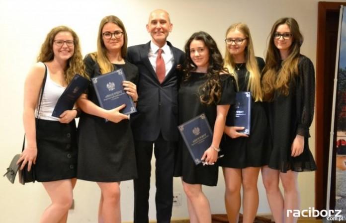 Pożegnanie absolwentów I LO na Zamku Piastowskim