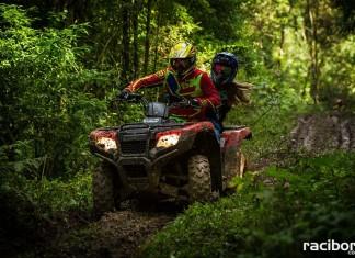 Raciborska policja przypomina: Jazda quadem po lesie jest nielegalna