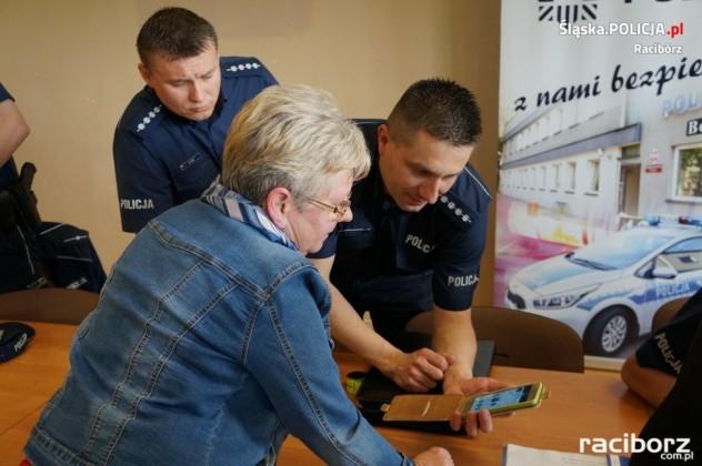 Policja Racibórz: Debata z seniorami w Klubie Osiedlowym M-5