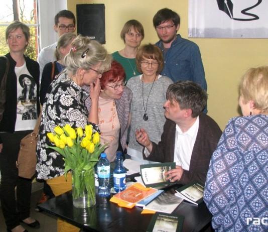 Spotkanie autorskie Jacka Molędy w Rydułtowach