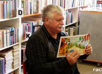 Wiesław Drabik pierwszym gościem Wielkiej ligi młodych czytelników