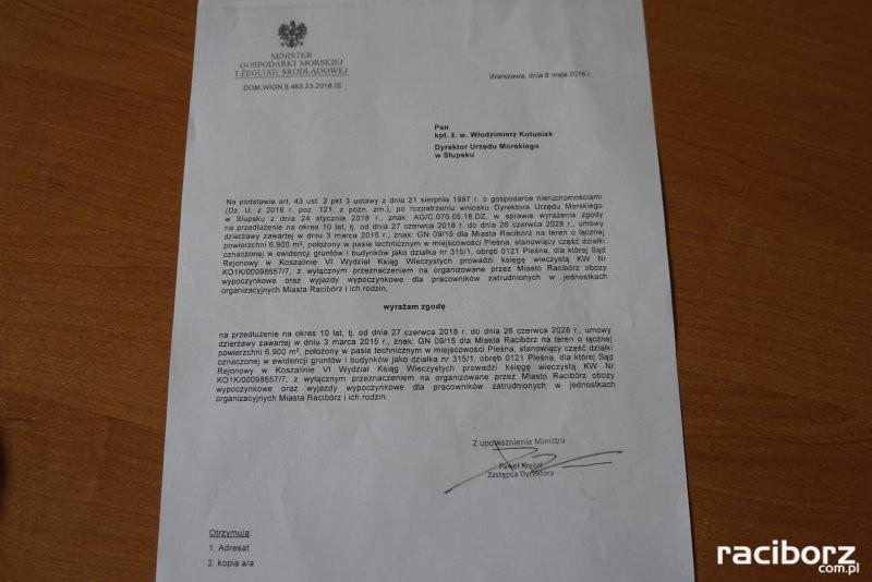 Dzierżawy terenów w Pleśnej na 10 lat