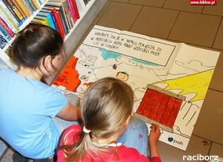 """Program edukacyjny """"Globalnie w bibliotekach"""" Racibórz"""