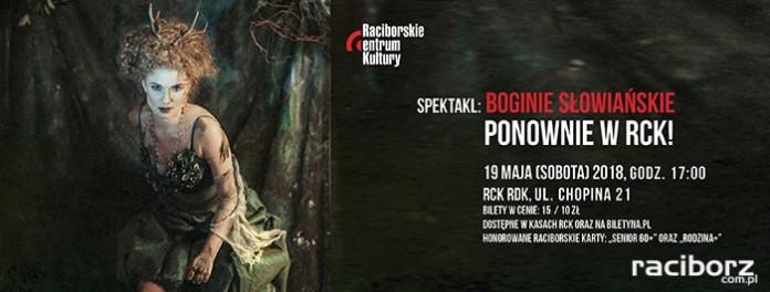 ,,Usłyszeć srebrną Lunę, czyli rzecz o boginiach słowiańskich'' po raz drugi w RCK!