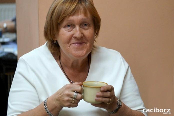 Eleonora Czekała dzień babci u emerytów w Nędzy