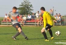 Artur Dudacy strzela gola na 6:1