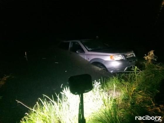 Ligota Tworkowska, Stare Nieboczowy: Wędkarz utonął w swoim samochodzie