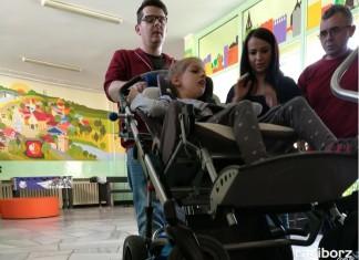 Racibórz: Zespół Szkół Specjalnych zakupił mobilny schodołaz