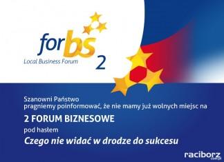 2 Forum Biznesowe ForBS w Wodzisławiu: Bądź z nami online