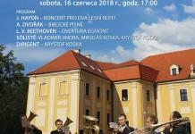 Koncert plenerowy na dziedzińcu Starego Opactwa w Rudach