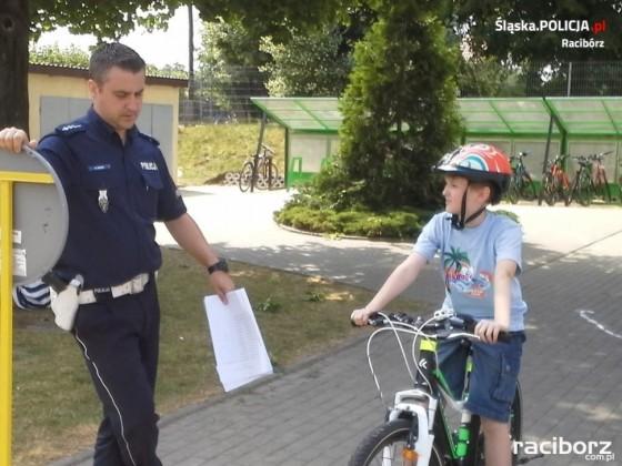 Racibórz: Egzamin na kartę rowerową w ZSP nr 2