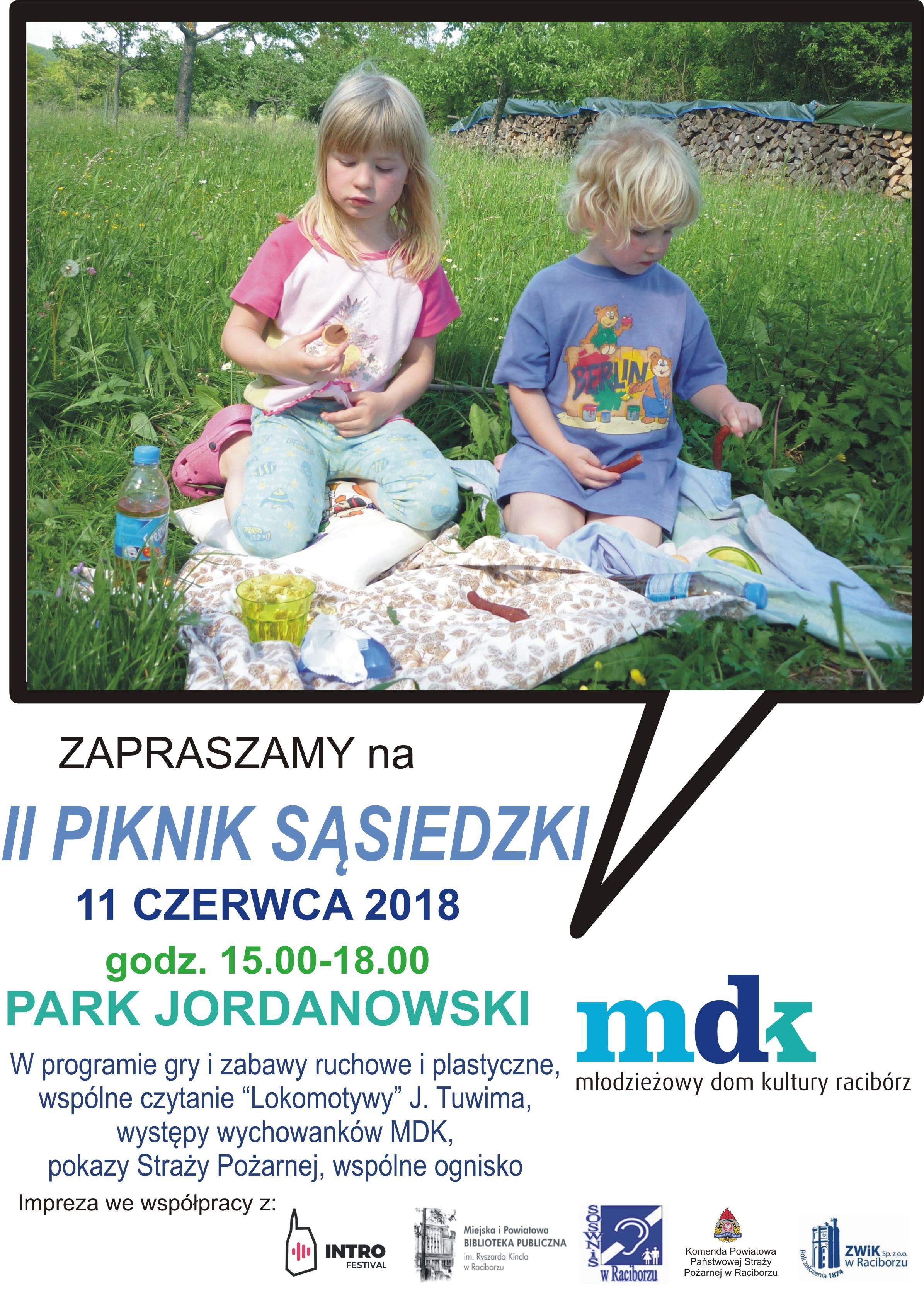 Racibórz: Piknik Sąsiedzki w Parku Jordanowskim