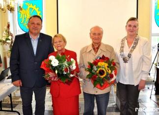 Krystyna Lubos i Feliks Cieśla nagrodzeni przez władze Gminy Kuźnia Raciborska