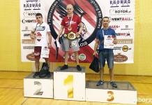 Kamil Tarnawski z raciborskiego Łamatora z brązowym medalem