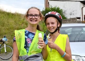 Rodzinny rajd rowerowy w Wojnowicach