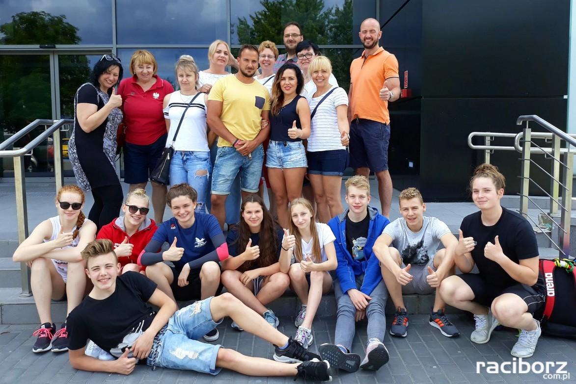 Uczniowie ZSOMS Racibórz Mistrzostwa Polski Juniorów 16-letnich i 15-latków.