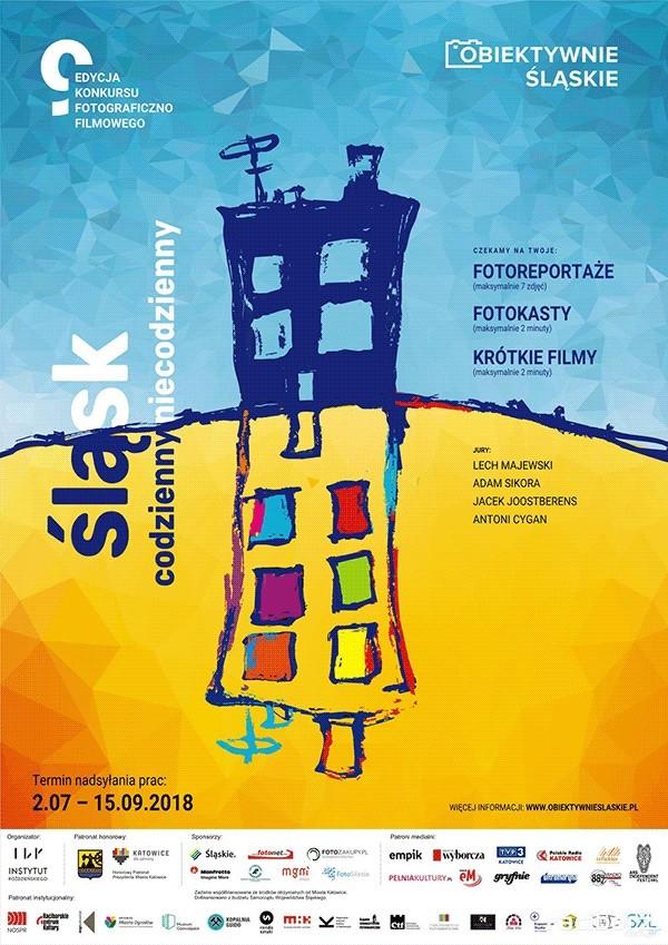 Obiektywnie śląskie - plakat konkursu