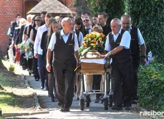 Ostatnie pożegnanie śp. Herberta Dengela