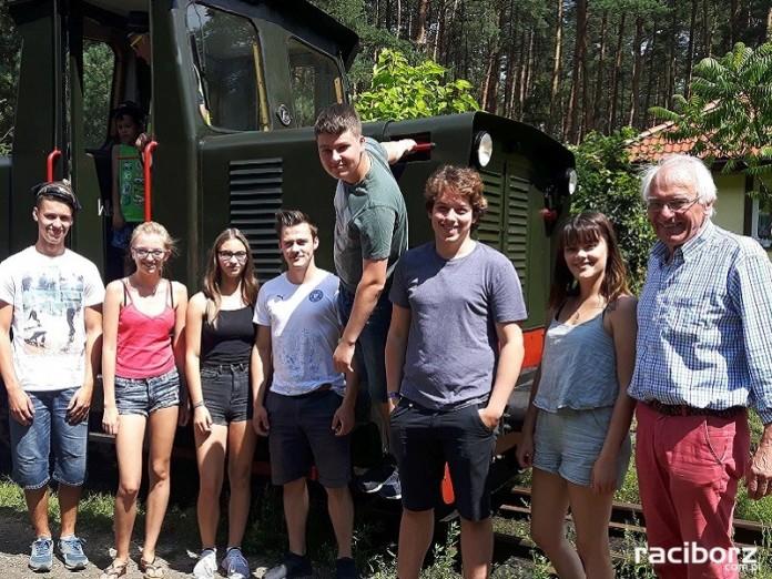 Mieszkańcy partnerskiego miasta Rendsburg w Niemczech w Rudach