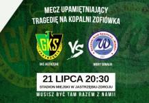 GKS Jastrzębie: Mecz upamiętniający tragedię na Kopalni Zofiówka